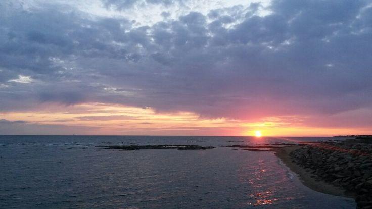 Sunset La Turballe