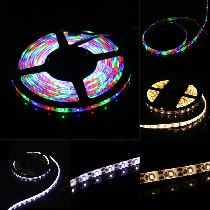 Led lighting 389 pinterest battery usb powered led strip light 3528 smd waterproof flexible led strip indoor outdoor home garden mozeypictures Image collections