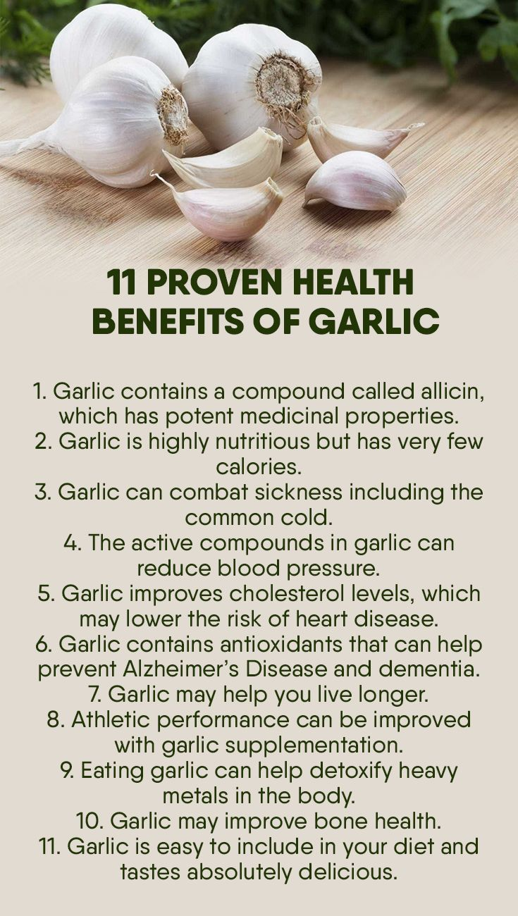 11 proven health benefits of garlic | garlic health benefits