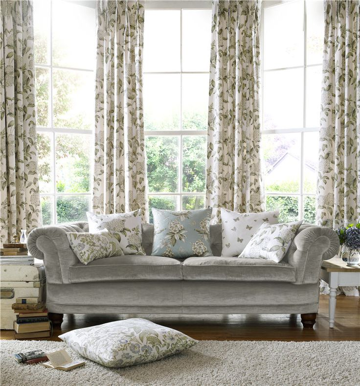 Avebury drapery fabric collection by Charles Parsons Interiors  #charlesparsonsinteriors #ashleywilde #fabric #material #drapery #curtains #floral #print