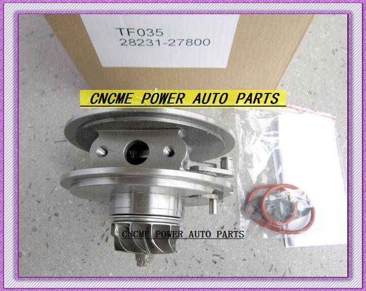 TURBO Cartridge CHRA Core TF035 28231-27800 49135-07301 49135-07100 49135-07300 For HYUNDAI Santa Fe 2006- D4EB D4EB-V 2.2L CRDi