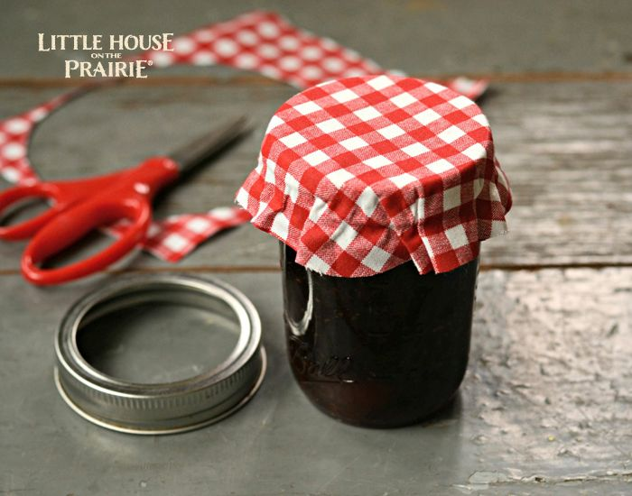 Make a delicious and homemade hostess gift with these old-fashioned plum preserves recipe by Little House on the Prairie.