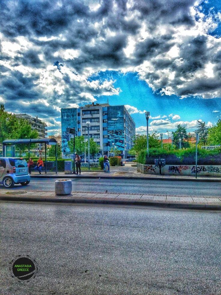 Hospital ipokratio. Thessaloniki Greece.