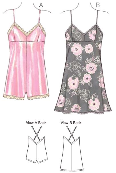 Kwik Sew - 3726- admirably sewn together by a policeman, this pattern is great for anyone wanting to try some bust shaping in their lingerie. Pattern is in my stash and on my to do list. The kwik sew instructions are very good, and make sewing this a dream