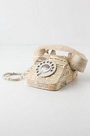 Paper Rotary Phone