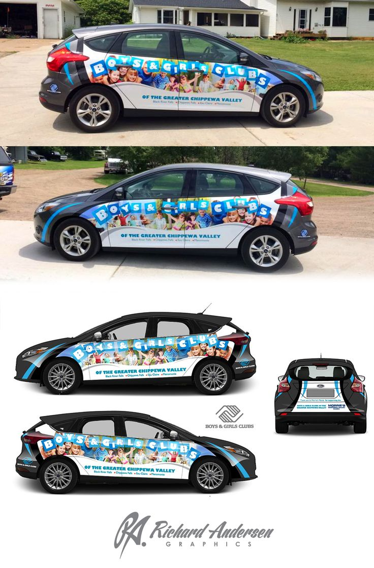 Boys girls club ford focus livery business advertising pinterest girls club ford focus and ford
