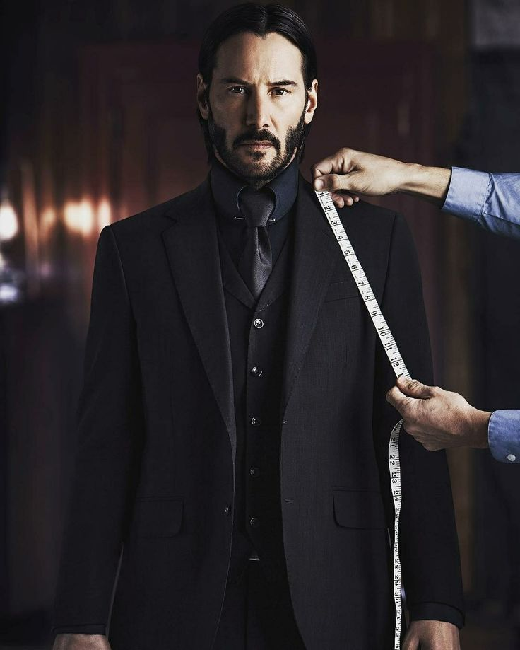 Keanu Reeves Wearing Luca Mosca Costume Designer S Suit In