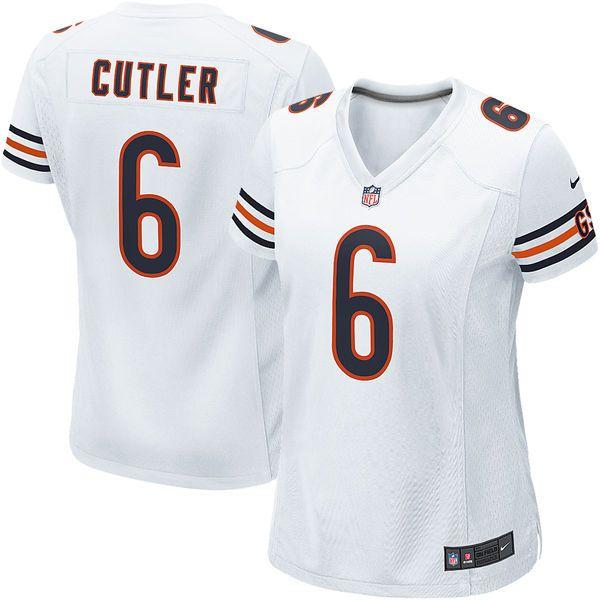Jay Cutler Chicago Bears Nike Women's Game Jersey – White - $94.99