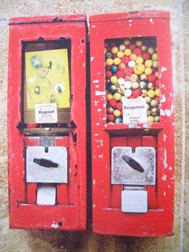 kauwgom automaat