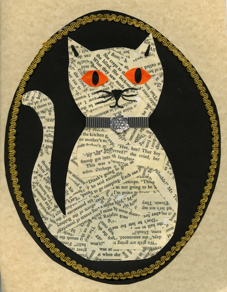 "Thought of you @Laura Johnson! This would be perfect for patterns/textures....and your love of cats! From ""that artist woman"""