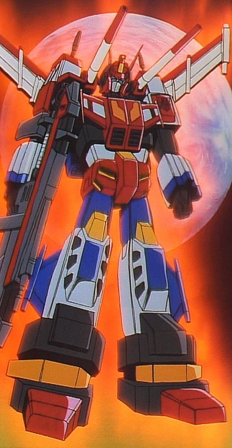 """Victory Saber, from the Japanese """"Transformers: Victory"""" series."""