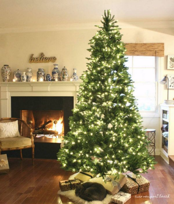 I Have About A Week And A Half Until We Break Out Our Christmas Tree It S Usually A Black Friday Christmas Interiors Christmas Tree With Gifts Christmas Tree
