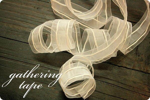 gathering tape