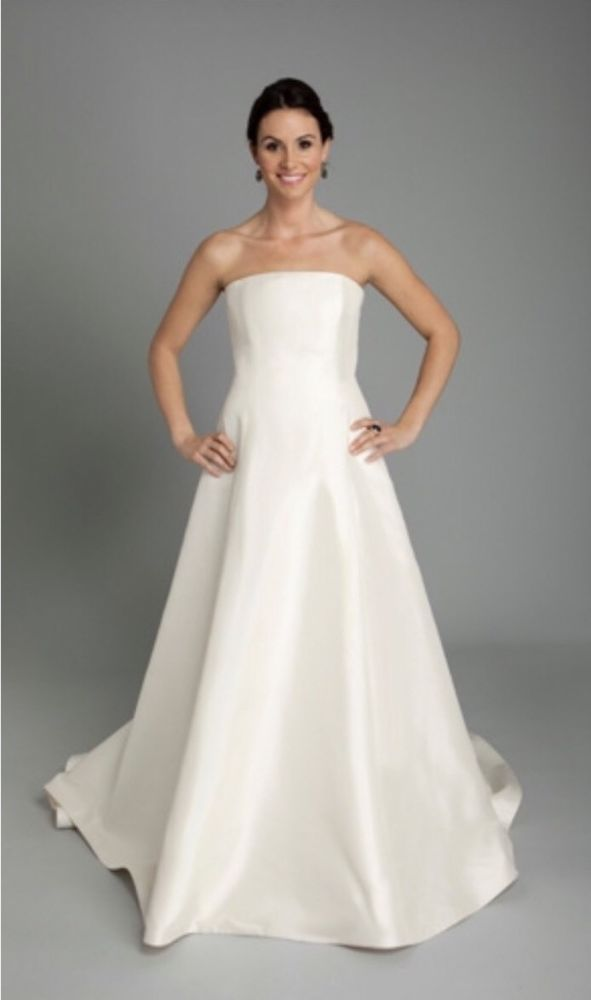 NEW-Coren Moore-Wedding Dress Bridal Gown-White-Size 6