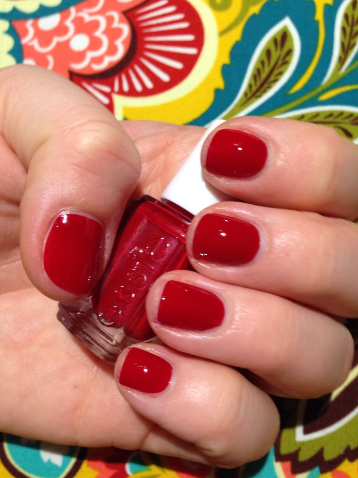 All Nail Trends: Essie- Forever Yummy, My Favorite Red For All Seasons