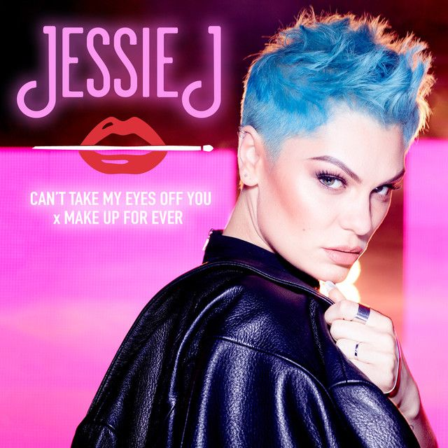 """""""Can't Take My Eyes Off You x MAKE UP FOR EVER"""" by Jessie J was added to my Re- cover versions playlist on Spotify"""