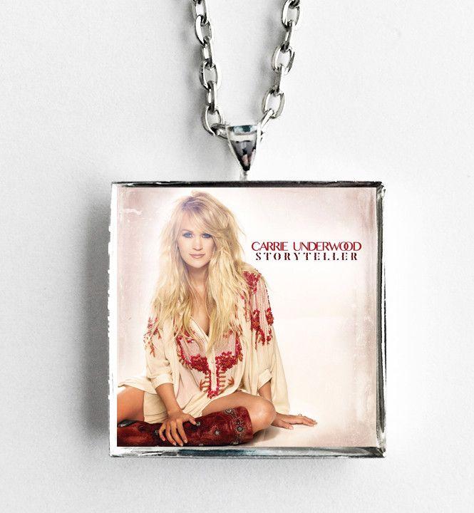 Carrie Underwood - Storyteller - Album Cover Art Pendant Necklace