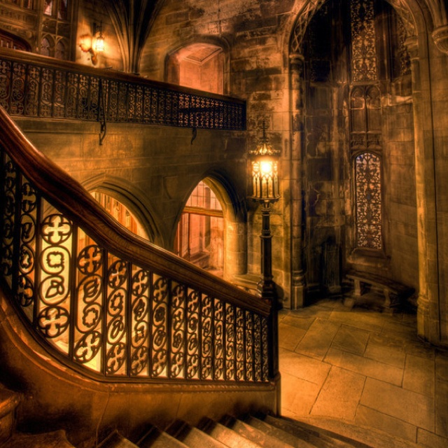 a Hogwarts interior from the Harry Potter films Movies