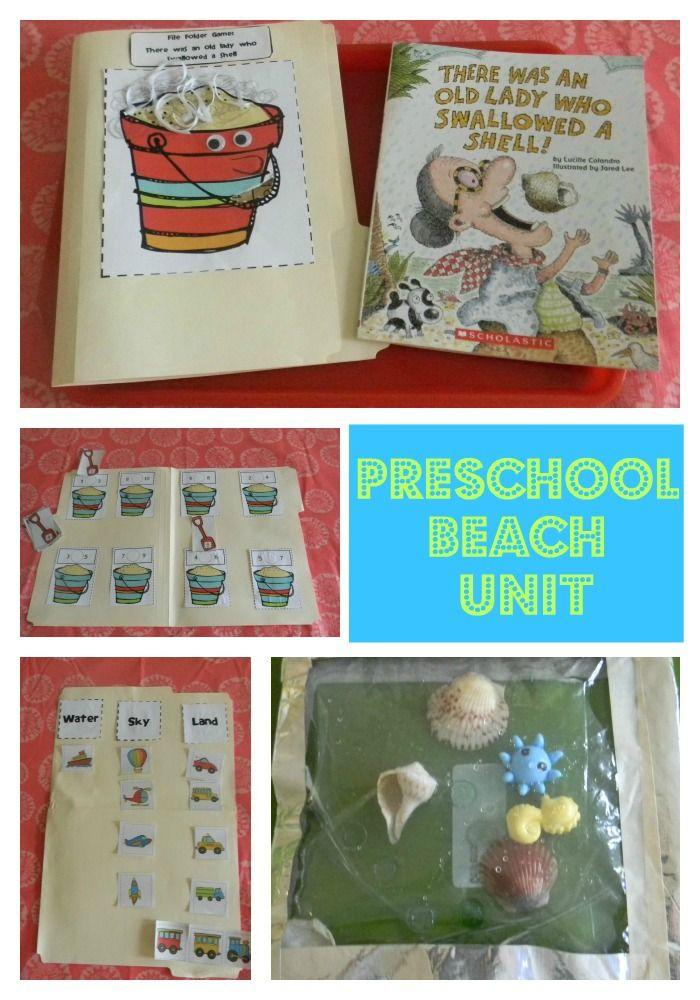 Preschool Beach-themed Unit $5