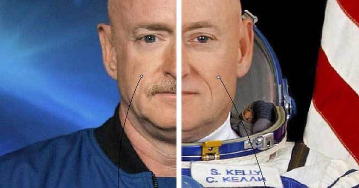 Los hermanos gemelos Scott y Mark Kelly decidieron prestarse para un proyecto y misión de la NASA: The Twin Study. Un proyecto que consistía en saber qué es lo que le sucede al cuerpo humano después de pasar un año en el espacio, viviendo lejos del planeta y flotando en microgravedad. De esta manera, podrían ver qué tan diferente lucía Scott después de haber pasado 340 días en el espacio, a su hermano Mark que se había quedado en la Tierra.