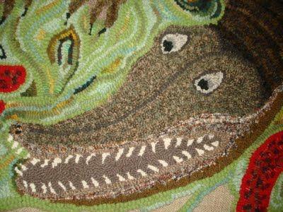 Art Spirit: Monday night rug hooking