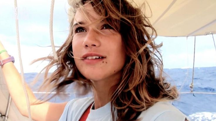 14-year old Laura Dekker set out, with a camera in hand, on a two-year voyage chasing her dream to become the youngest person ever to sail around the world alone.