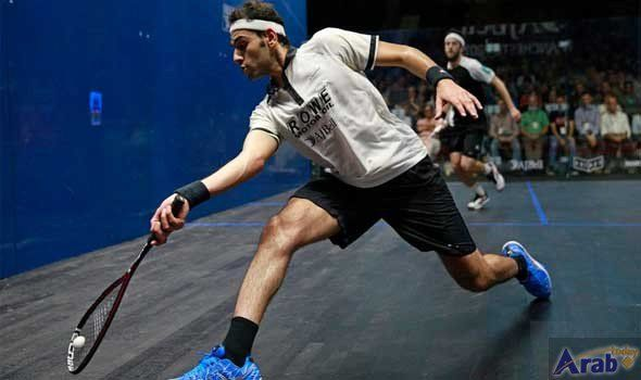 Egyptian brothers' squash game end in tears