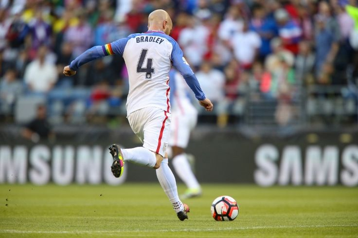 U.S. MNT captain Michael Bradley dons rainbow armband in show of support for the victims in Orlando