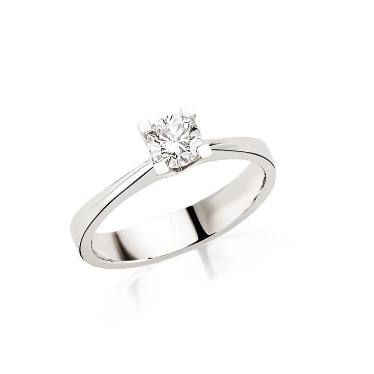 Cu diamant de 0.38 carate, montat pe un inel din aur alb sau platina, acest inel de logodna reprezinta trecerea intr-o noua etapa din vietile dumneavoastra. Detalii despre acest inel: goo.gl/Mo1nE