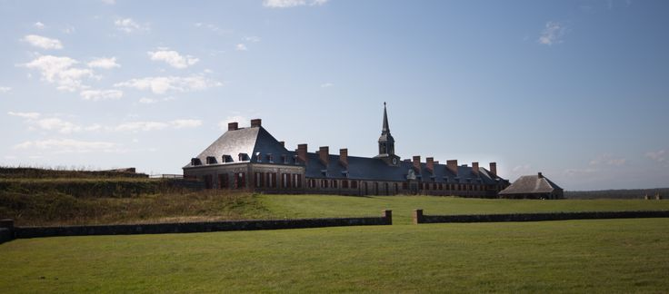 """""""Look at all those guns!"""" One travel writer steps back in time, in more ways than one, at The Fortress of Louisbourg! www.cbisland.com"""