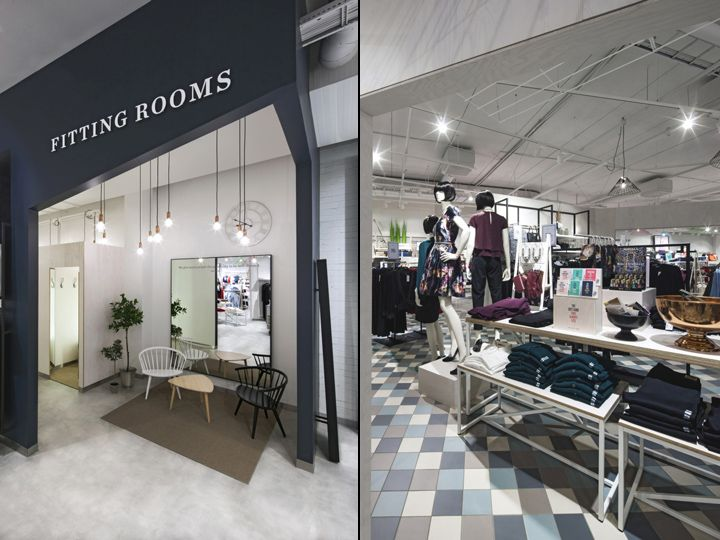 """The second installment of our """"For You"""" store concept for Nordic fashion retailer KappAhl has arrived in Gothenburg, offering female shoppers aged 35+ a more inspiring, accessible and easily navigable retail experience."""