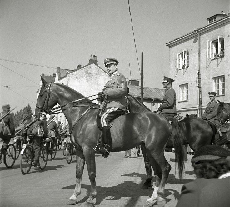 Marsalkka Carl Gustav Mannerheim - Viipuri 1939 Finland