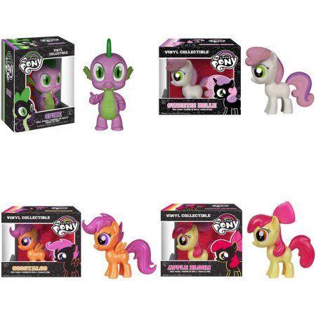Funko POP Collecter Set My Little Pony: Spike, Sweetie Belle, Scootaloo, Apple Bloom, Assorted