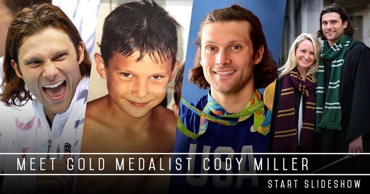 """""""And look, too, some extraordinary emotion from Cody Miller,"""" observed the British broadcaster.  Only a very few people watching that scene knew the true wellspring behind Cody Miller's emotional geyser.  One day eight years ago, Craig Miller was leaving the family home in Las Vegas, on his way to work"""