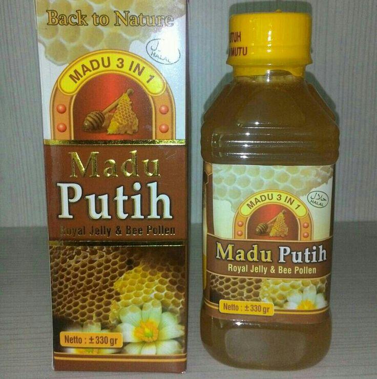 Jual MADU PUTIH 3 IN 1 hanya Rp 45.000, lihat gambar klik https://www.tokopedia.com/elfarhanstore/madu-putih-3-in-1  MADU flora 3 in 1 adalah madu pilihan plus Royal jelly & Bee Pollen. Dipandu menjadi satu sehingga mempunyai khasiat tinggi & cocok untuk Kesehatan serta Pengobatan.   Plus royal jelly, bee pollen  Tanya & Pesan : WA: 082110986817  Tlp: 087772651115  Admin 1. BBM Pin:597CEF5E Admin 2. BBM Pin:33306DBB  Isi Bersih: 330gr. Prod: Roudhoh food