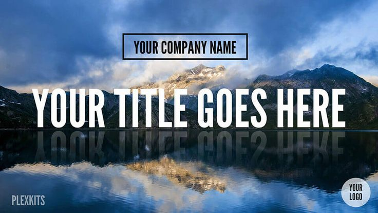 PowerPoint Title Slide Template