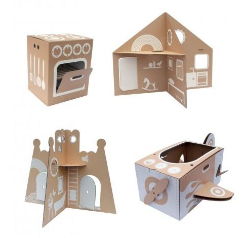 flatout frankie: cardboard toys and childrens furniture, new zealand (some good DIY ideas)