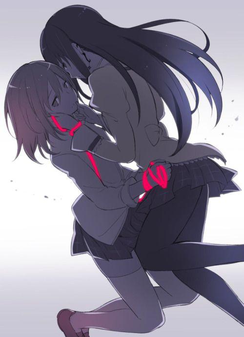 Madoka & Homura (Puella Magi Madoka Magica)