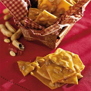 Old Fashioned Peanut Brittle -- Turn to this old-fashioned favorite when you want to make homemade candy. With both microwave and stovetop instructions, this candy recipe is easy to make in large batches for holiday gifts.
