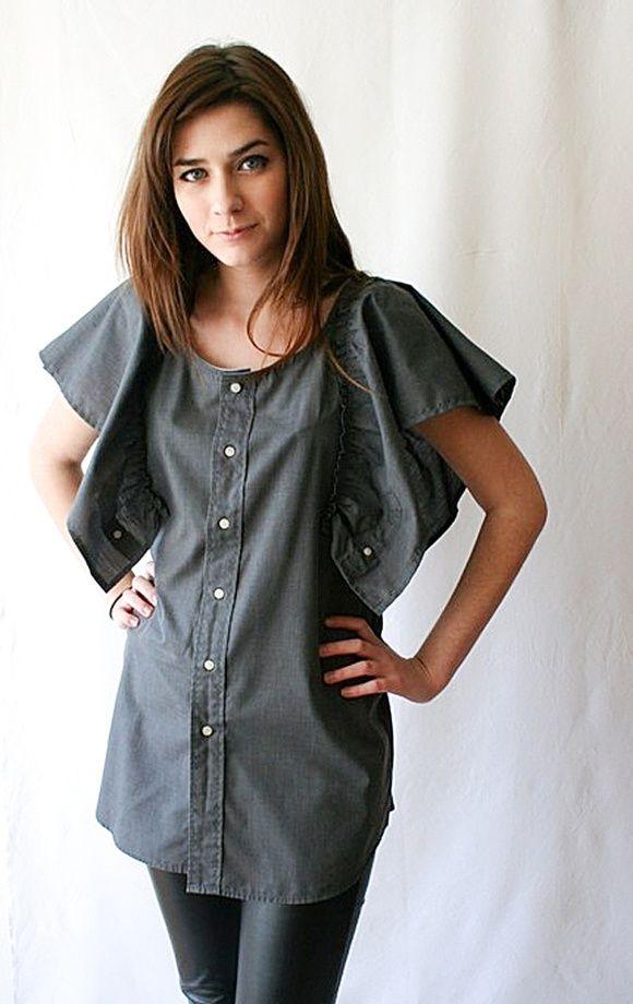 Девушки в открытых рубашках и халатиках смотреть онлайн фото 639-727
