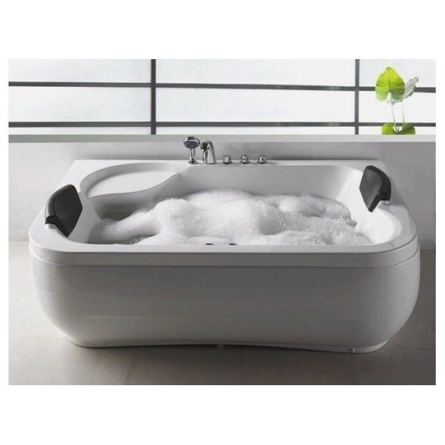 Vasca Idromassaggio Per 2 Persone 183 X 115 Cm Bathroomjacuzziforsale Jacuzzi Bathtub Bathtub Whirlpool Tub