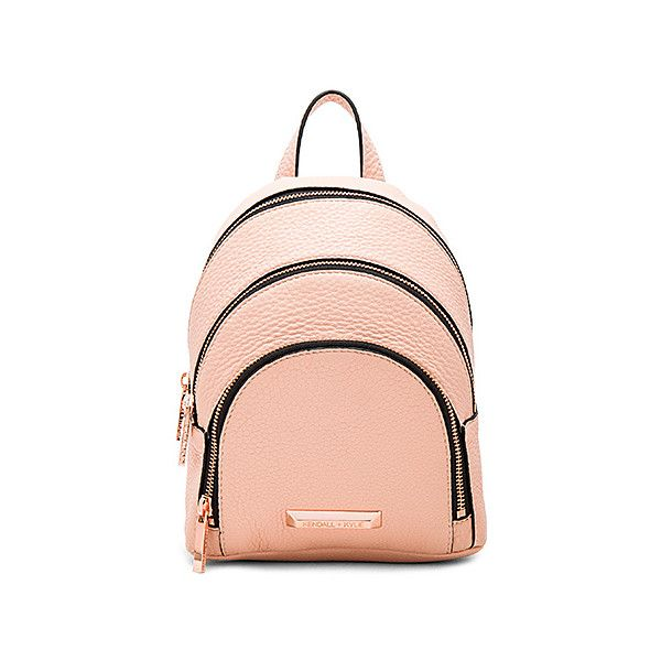 KENDALL + KYLIE Sloane Mini Backpack ($250) ❤ liked on Polyvore featuring bags, backpacks, handbags, leather daypack, leather rucksack, genuine leather bags, leather mini bag and mini bags