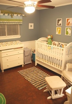 Baby Boy Room - traditional - bedroom - austin - House+Earth