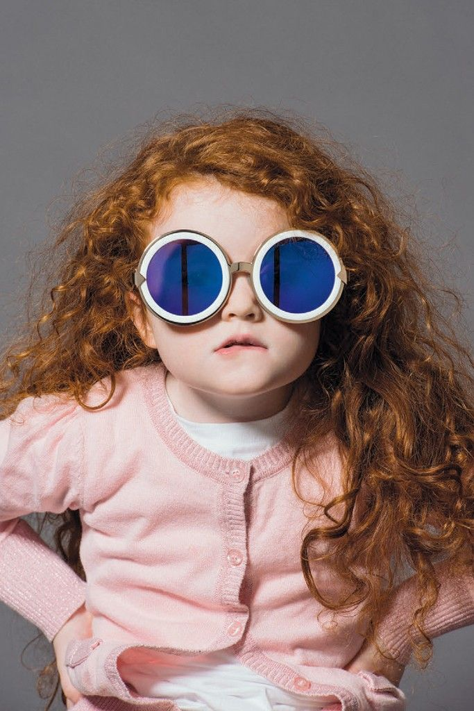 SO CUTE  An image from the Forever 2nd Summer 2013 campaign by Karen Walker Eyewear.