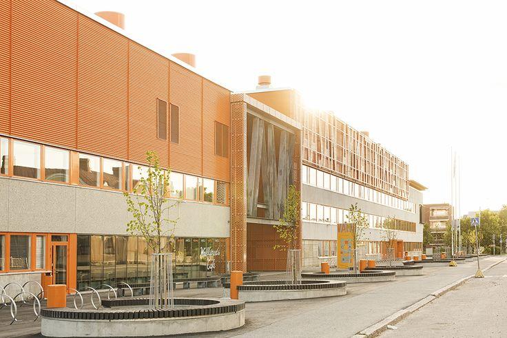Energetic VAMK Palosaari Campus in Vaasa, Finland.