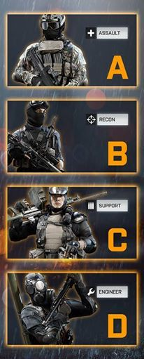 Game mode: Obliteration   What's your go-to class? A FTW