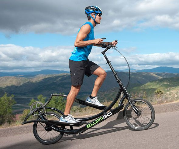 Elliptical Bike For Outside: Outdoor Elliptical Exercise Bicycle