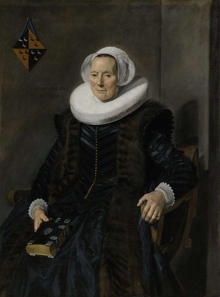 Portrait of Maritge Claesdr Vooght, Frans Hals, 1639