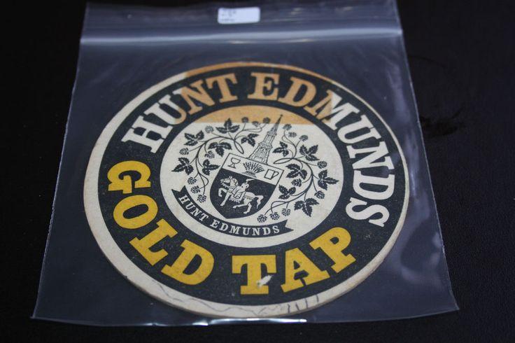 1963 Beermat Hunt Edmunds (Banbury) Cat 012 (2G08 10/14)