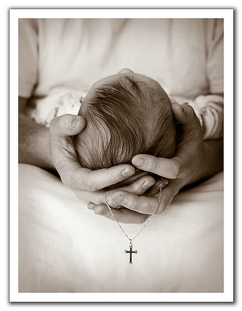I love this photograph, It commemorates a baby's baptism .